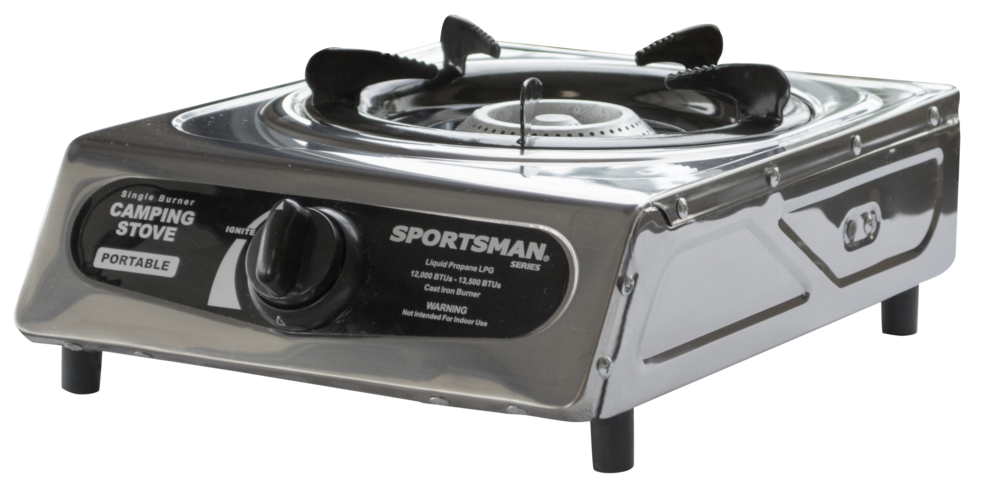 sportsman series portable single burner camping stove gas. Black Bedroom Furniture Sets. Home Design Ideas