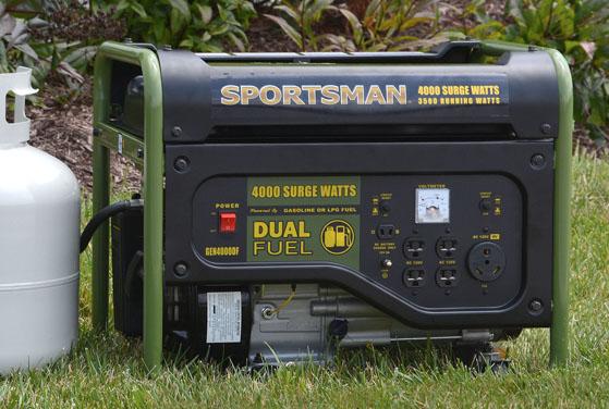 Item Gen4000df Sportsman Dual Fuel 4000 Surge Watt Generator